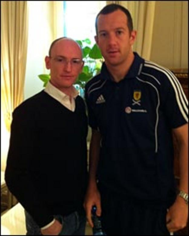 Chris McLaughlin and Charlie Adam
