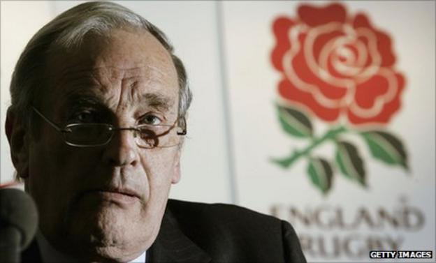 Acting RFU chief executive Martyn Thomas