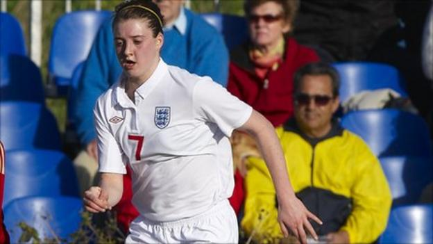 Birmingham City and England midfielder Jade Moore