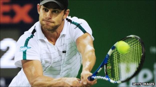 Andy Roddick at the Shanghai Masters