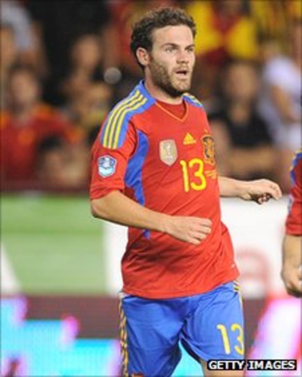 Chelsea striker Juan Mata