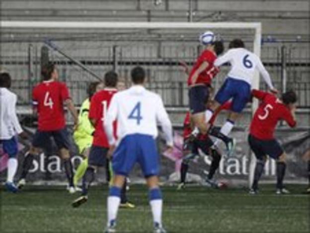 Craig Dawson heads in England's opener