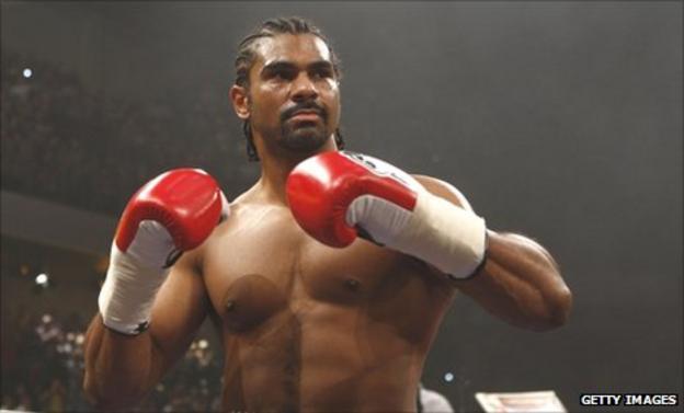 Former WBA heavyweight champion David Haye