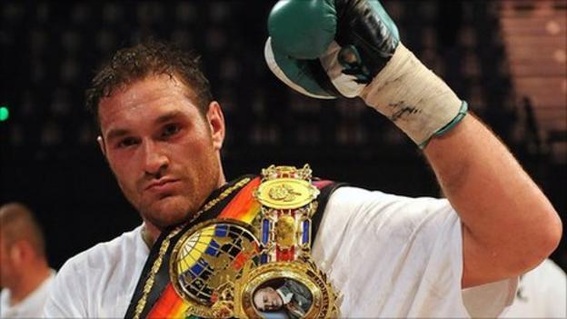 British heavyweight champion Tyson Fury