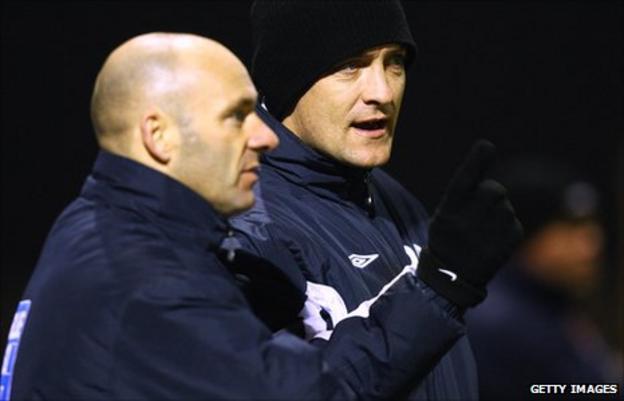 Darren Sheridan and Dave Bayliss