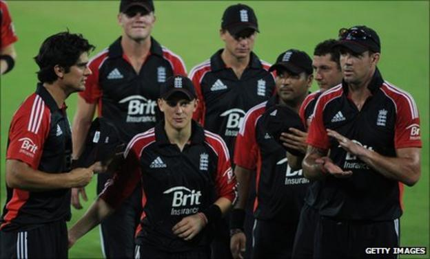 England congratulate Scott Borthwick