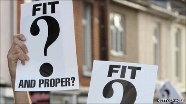 Fit and proper banner