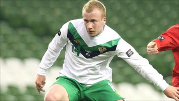 Liam Boyce had a trial with Celtic before his move to Germany