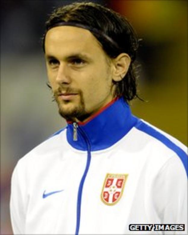 Serbia defender Neven Subotic