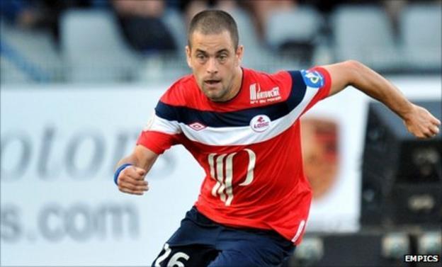 Lille midfielder Joe Cole