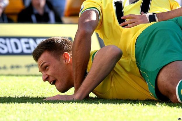 Anthony Pilkington scores for Norwich