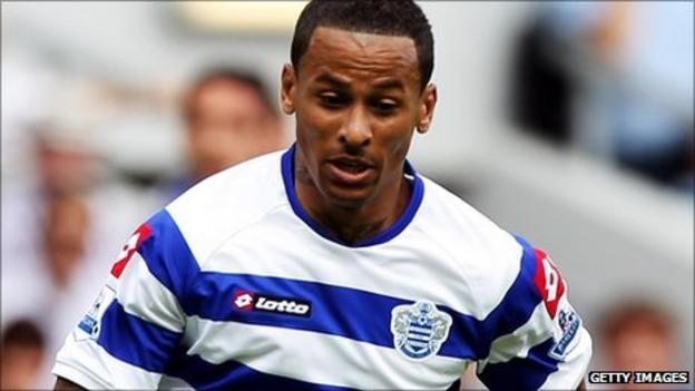 DJ Campbell in action for QPR