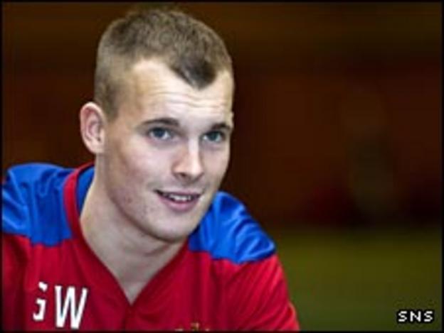 Rangers winger Gregg Wylde