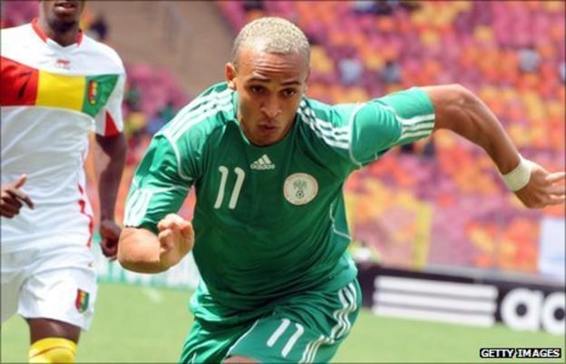 Nigeria forward Osaze Odemwingie