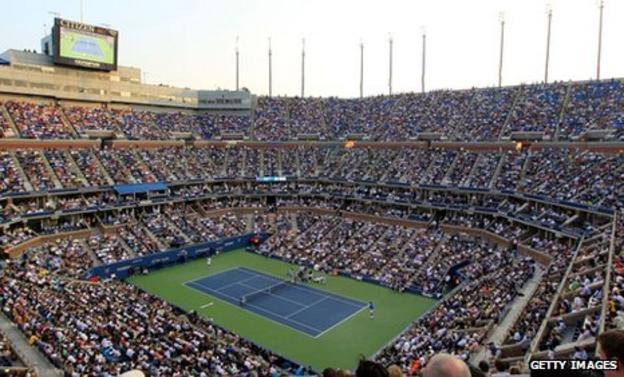 The men's final of the US Open at Flushing Meadow may move to Monday