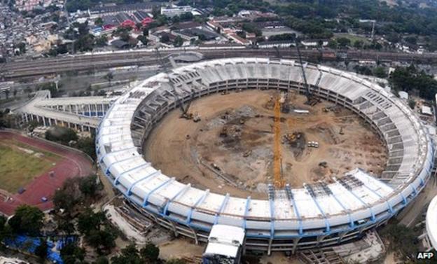 Brazil World Cup 2014 Maracana stadium Rio