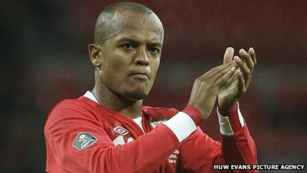 Cardiff City striker Rob Earnshaw has won 56 caps for Wales