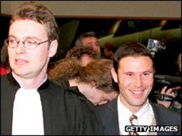 Jean-Louis Dupont and Jean-Marc Bosman