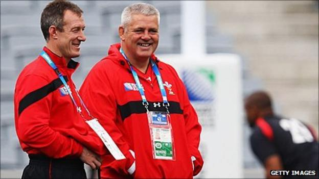 Robert Howley and Warren Gatland