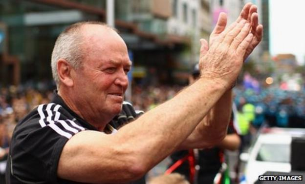 New Zealand's Word Cup winning coach Graham Henry will lead the Barbarians against Australia