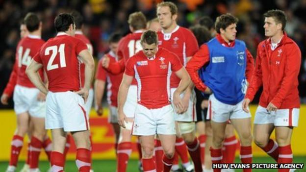 Wales show the pain of defeat against France in the World Cup semi-finals