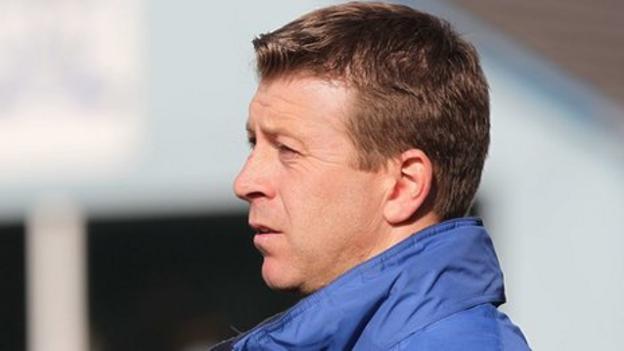 Newry City boss Pat McGibbon