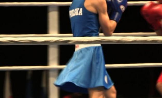 Polish boxers wore skirts at the recent European Championships
