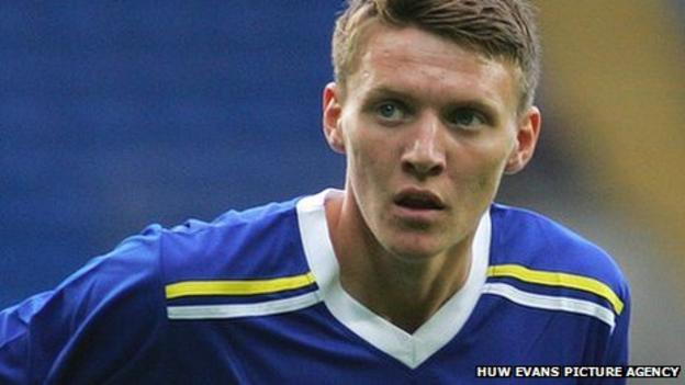 Cardiff striker Joe Mason