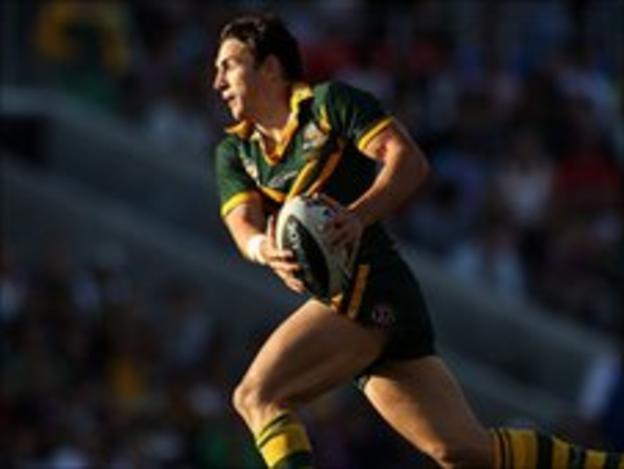 Australia's Billy Slater