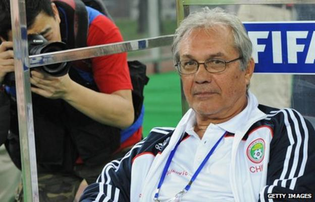 Serb coach Ratomir Dujkovic