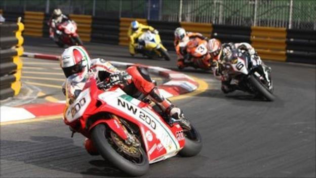 Michael Rutter leads at Macau