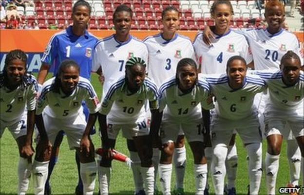 Equatorial Guinea's women's team
