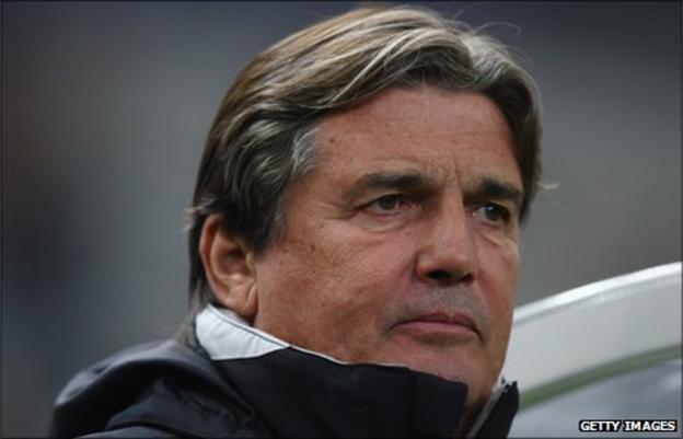 Equatorial Guinea coach Henri Michel