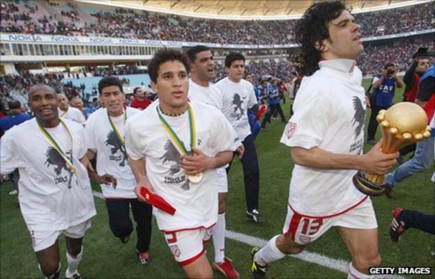 Tunisia's 2004 African champions