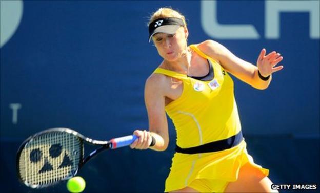 British No.1 Elena Baltacha
