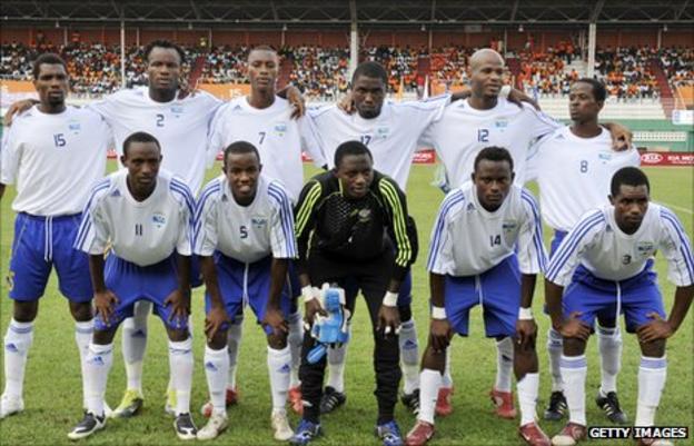 Rwanda squad