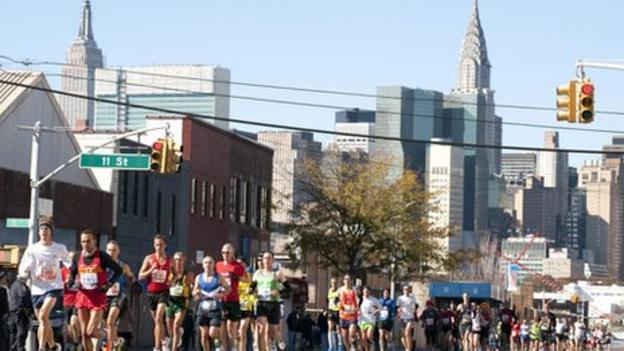 New York hosts its marathon 10 years after 9/11