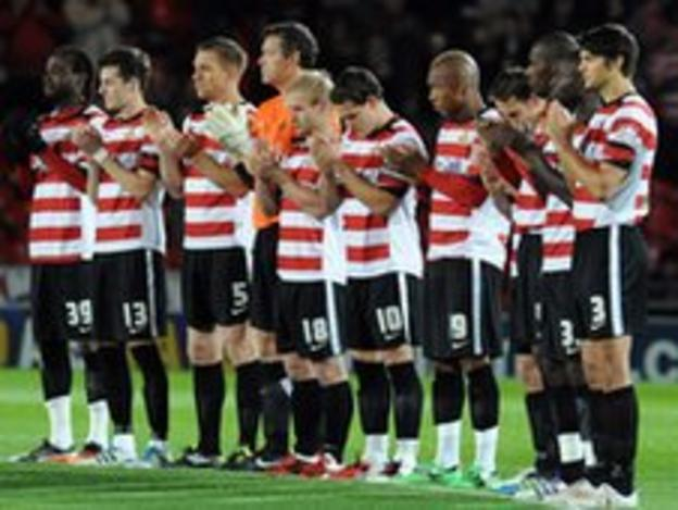 Doncaster Rovers team
