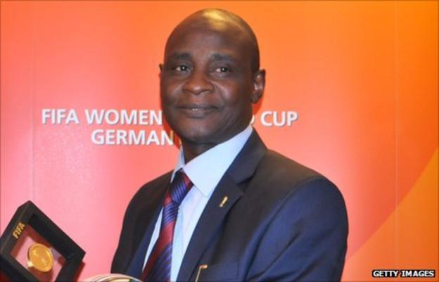 Nigeria Football Federation president Alhaji Aminu Maigari