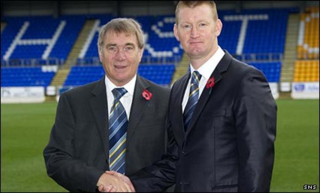 Geoff Brown and Steve Lomas