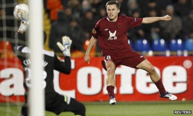 Spurs keeper Carlo Cudicini denies Aleksandr Ryazantsev