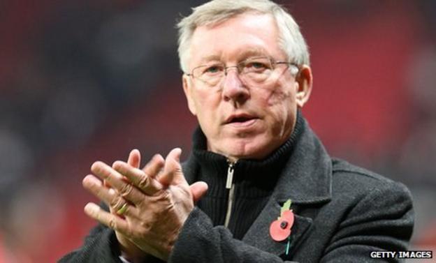 Man Utd boss Sir Alex Ferguson