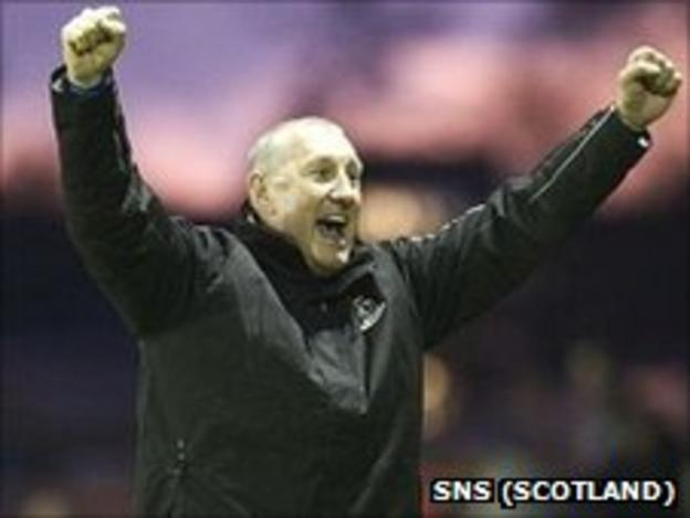 Jubilant Inverness manager Terry Butcher