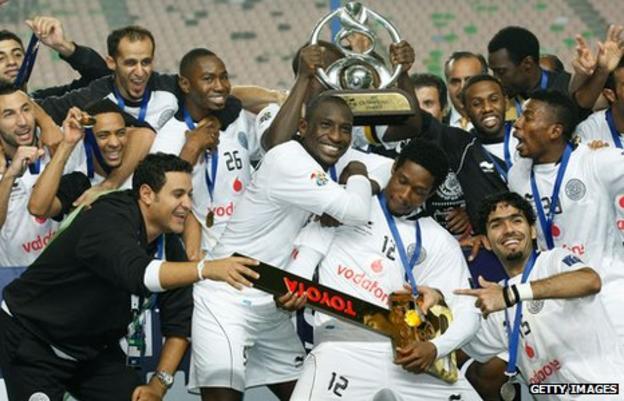 Al Sadd players