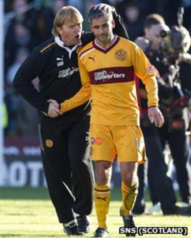 Stuart McCall and Keith Lasley