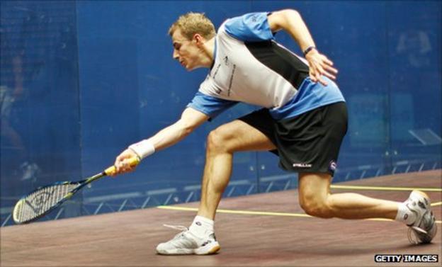 Nick Matthew beat Gregory Gaultier to win the World Open