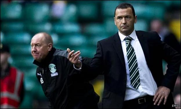 Billy Brown and Colin Calderwood