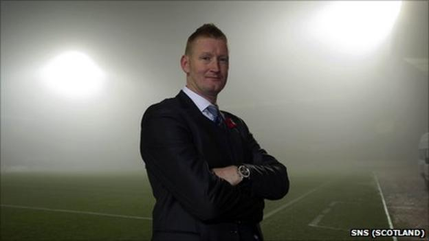 New St Johnstone manager Steve Lomas