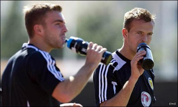 James Morrison and Jordan Rhodes