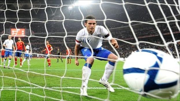 b9aedcb7e25 International friendly: England 1-0 Spain - BBC Sport